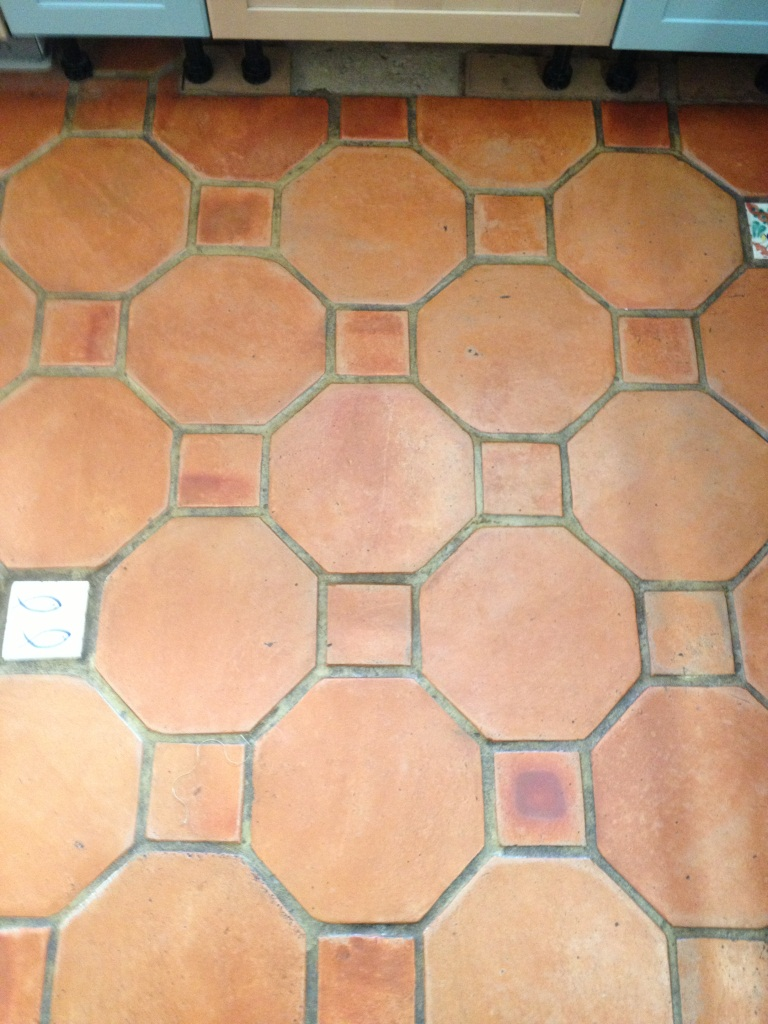 Terracotta Tiles Before