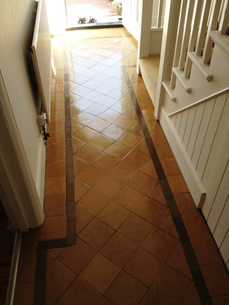 Victorian Hallway Hampton Court After Sealing