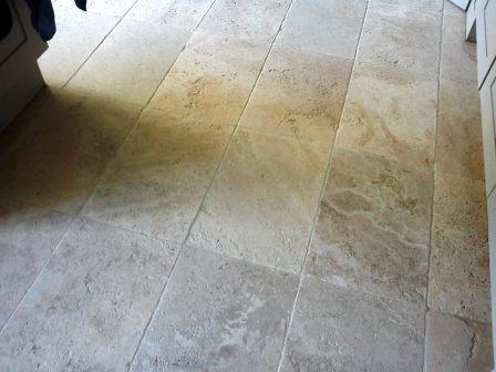 Stone Kitchen Floor After
