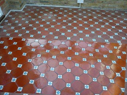 Tile Floor Renovation