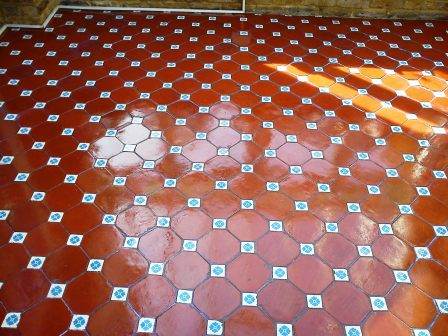 Victorian Floor Tile After
