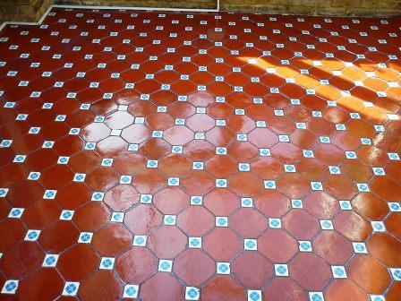 Victorian Floor Tile After