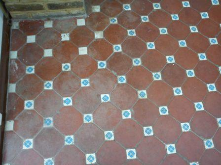 Victorian Floor Tile Before