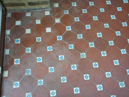 Victorian Floor Tile Before
