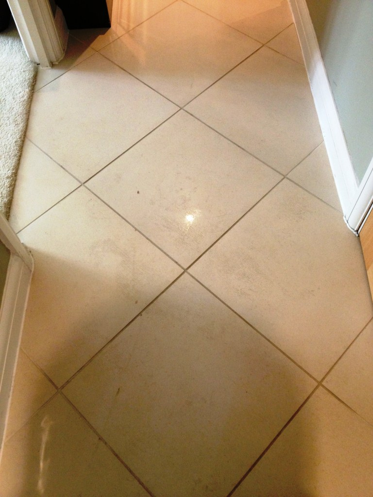 Porcelain Tile and Grout Clean in Teddington - South Middlesex