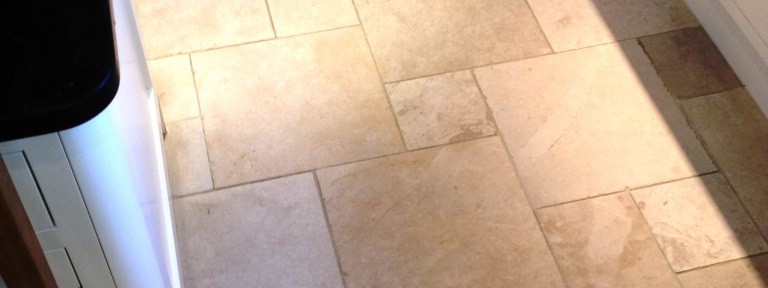Limestone Kitchen Floor Cleaning in Hampton