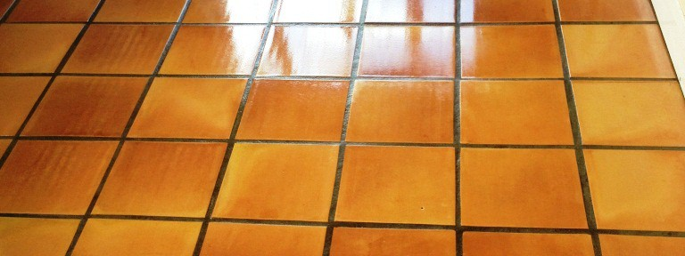 Terracotta Kitchen Floor Deep Cleaned in Twickenham