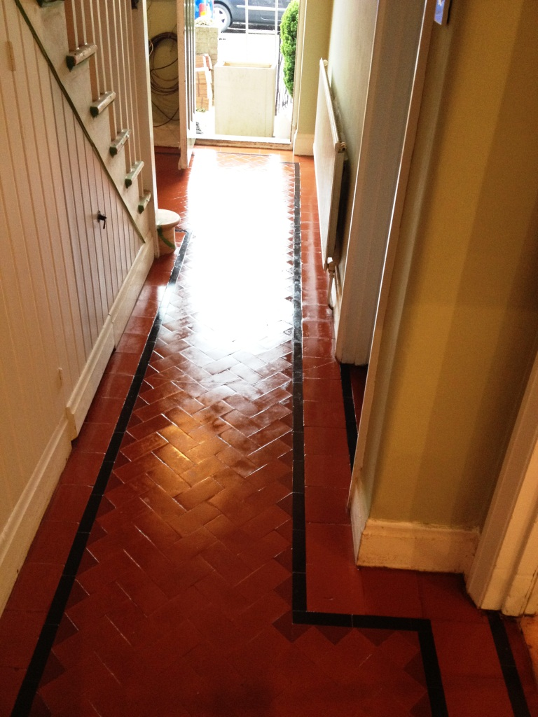 Victorian Hallway and Kitchen in Teddington After Cleaning