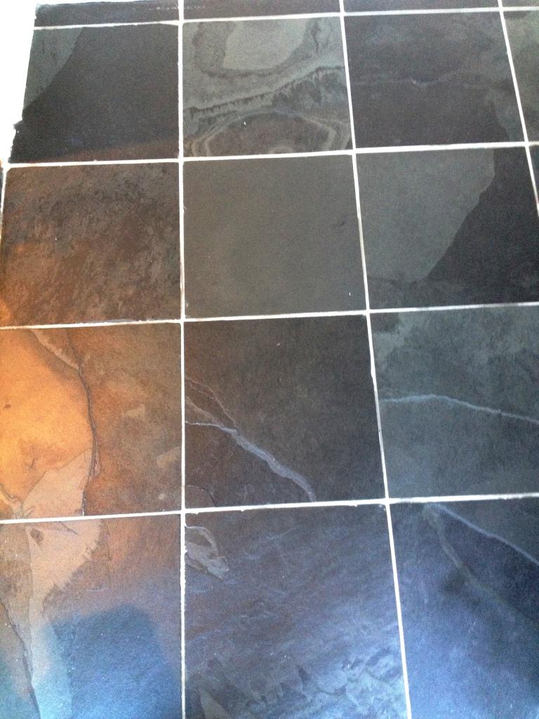 Slate Floor After Cleaning in Twickenham