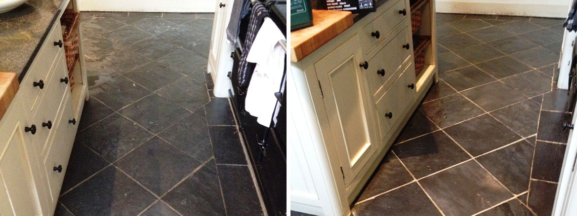 Slate-Floor-Before-After-Cleaning-In-Hampton
