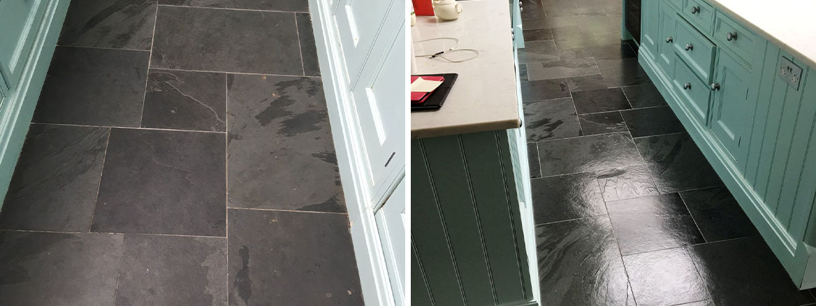 Slate-Floor-Before-After-Cleaning-Walton-on-Thames