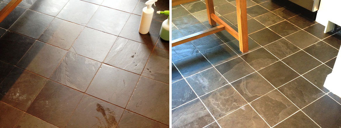 Slate-Floor-Before-After-Cleaning-in-Twickenham